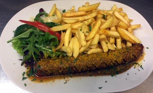 Riesencurrywurst